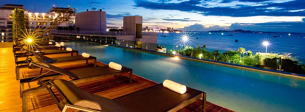 Seven Zea Chic Hotel Welcome To Pattaya Thailand